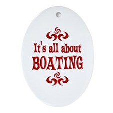 Boating Ornament (Oval)