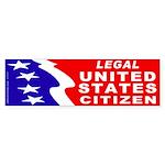 Legal Citizen (Bumper Sticker 50 pk)