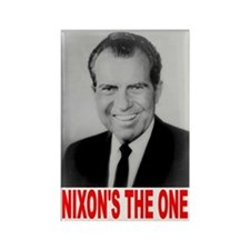 Nixon 1968 Rectangle Magnet