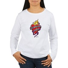 Animal-Abuse-Tattoo-Heart T-Shirt