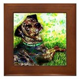 Catahoula Framed Tiles