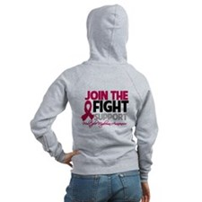 JoinTheFight-Cancer Zip Hoody
