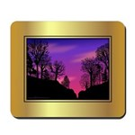Mousepad - Sunset in the Woods