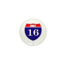 16th Birthday! Mini Button (10 pack)