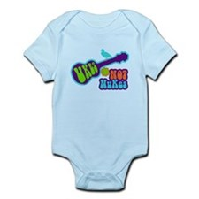 Ukes Not Nukes Infant Bodysuit