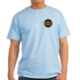 gold/black border patrol T-Shirt