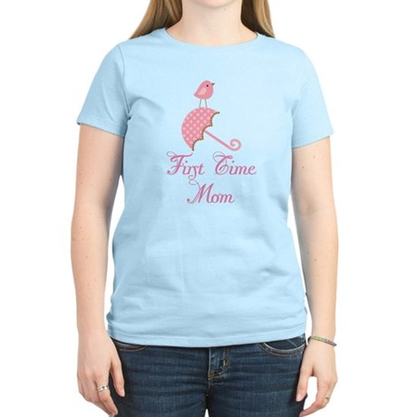Birdie First Time Mom Women's Light T-Shirt
