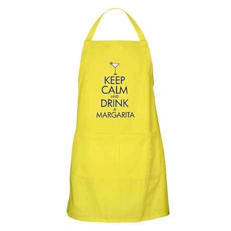 keep calm and drink a margarita Apron