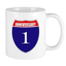 1st Anniversary! Mug
