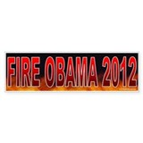 Fire Obama (sticker)