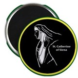 "Catherine of Siena 2.25"" Magnet (100 pack)"
