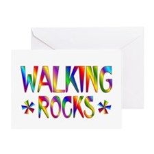 Walking Greeting Card