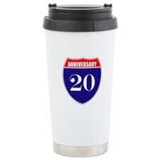 20th Anniversary! Ceramic Travel Mug
