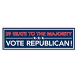 GOP Majority Bumper Sticker