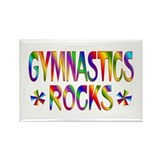 Gymnastics Rectangle Magnet (10 pack)