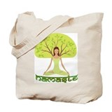 Namaste Tree Tote Bag