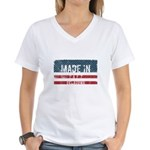 Tea Party Lipstick Republican Jr. Ringer T-Shirt