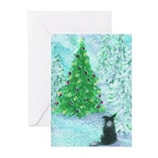 Unique Collie christmas Greeting Cards (Pk of 20)