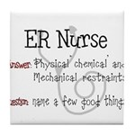 ER/Trauma Tile Coaster