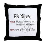 ER/Trauma Throw Pillow