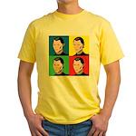 Niccolo Machiavelli Yellow T-Shirt