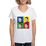 Niccolo Machiavelli Women's V-Neck T-Shirt