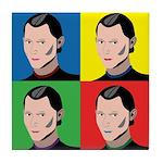 Niccolo Machiavelli Tile Coaster