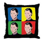 Niccolo Machiavelli Throw Pillow