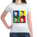 Niccolo Machiavelli Jr. Ringer T-Shirt