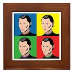 Niccolo Machiavelli Framed Tile