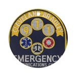Cleveland Bradley 911 Ornament (Round)