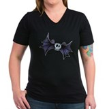 Purple Skull Bat Shirt
