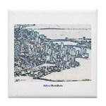 Downtown Miami Tile Coaster