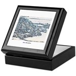 Downtown Miami Keepsake Box