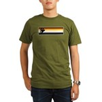 Bear Pride Flag Organic Men's T-Shirt (dark)