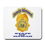 Hawaii Office of Narcotics En Mousepad