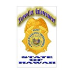 Hawaii Office of Narcotics En Mini Poster Print