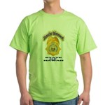 Hawaii Office of Narcotics En Green T-Shirt