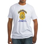 Hawaii Office of Narcotics En Fitted T-Shirt