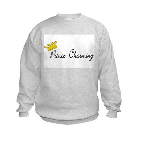Prince Charming 1 Kids Sweatshirt