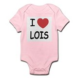 I heart Lois Infant Bodysuit