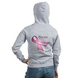 Breast Cancer Survivor Zipped Hoody
