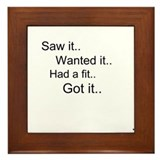 Cute Saw Framed Tile