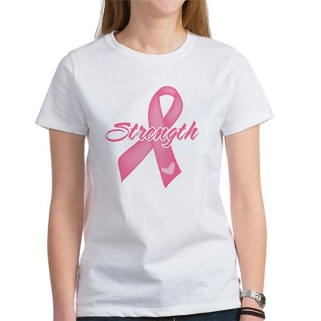 Strength - Breast Cancer Women's T-Shirt