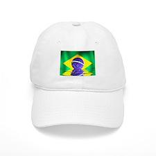Brazil flag - flood style Baseball Cap