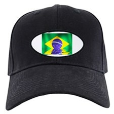 Brazil flag - flood style Baseball Hat