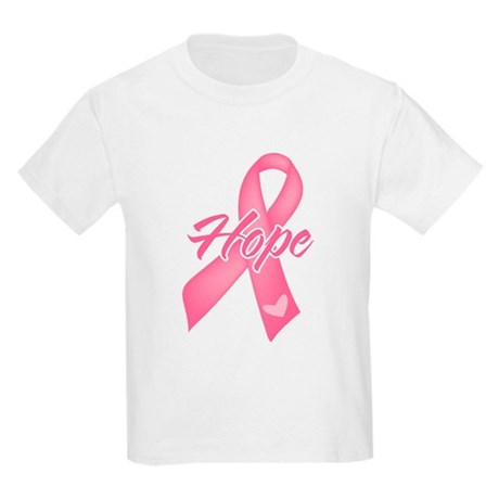 Hope Breast Cancer Kids Light T-Shirt