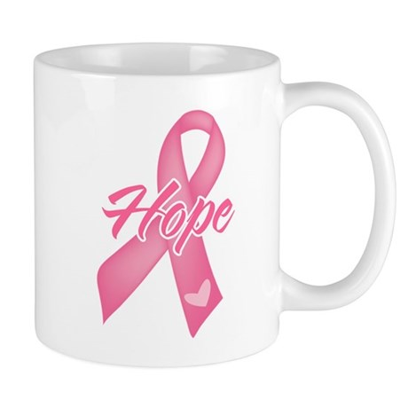 Hope Breast Cancer Mug
