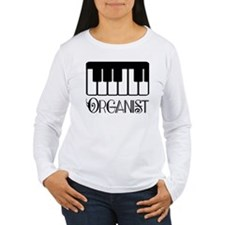Classical Organist Women's Long Sleeve T-Shirt