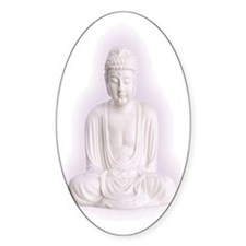 BUDDHA Oval Decal
